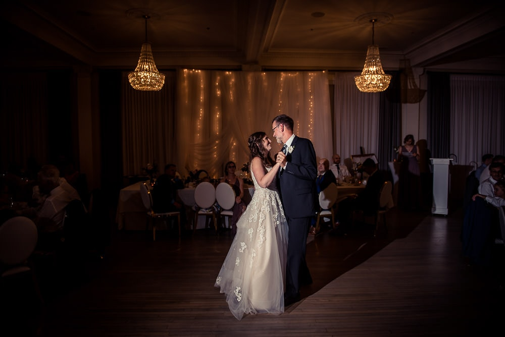 walper hotel wedding first dance